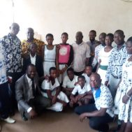 A group picture with the Builsa North Education Directorate